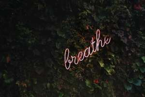 Stress reduction: breathe