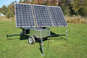 sun-tracking generator